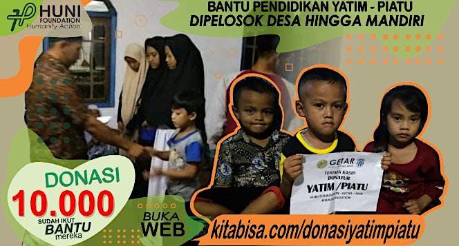 Donasi Yatim Piatu   Huni Foundation