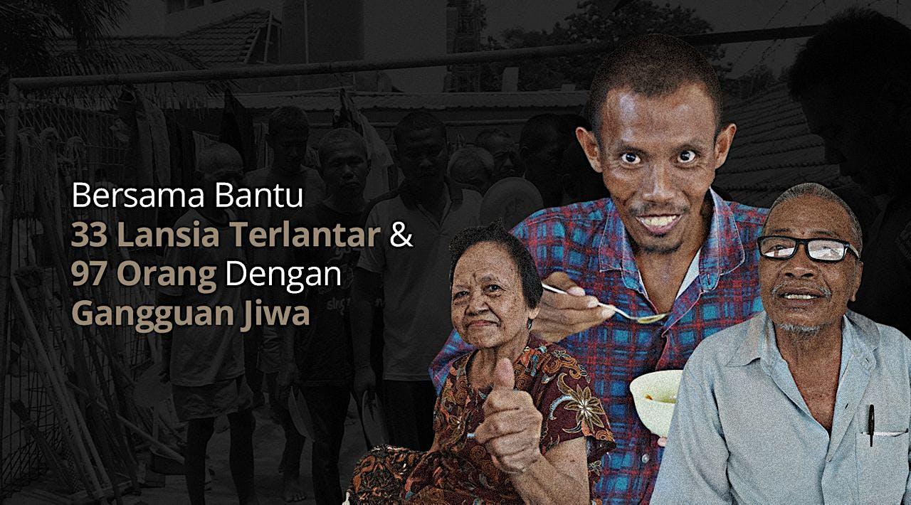 Bantu Lansia Terlantar & Gangguan Jiwa Griya PMI