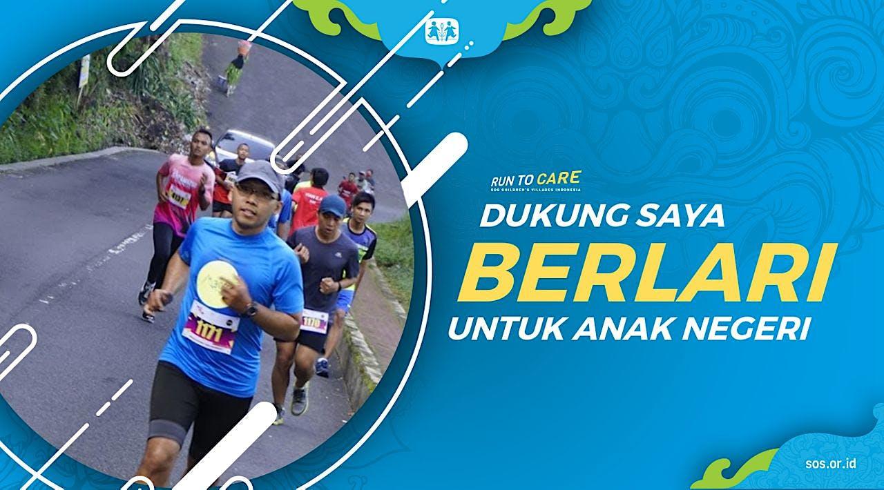 Dedik berlari 150KM untuk Mimpi Anak Indonesia