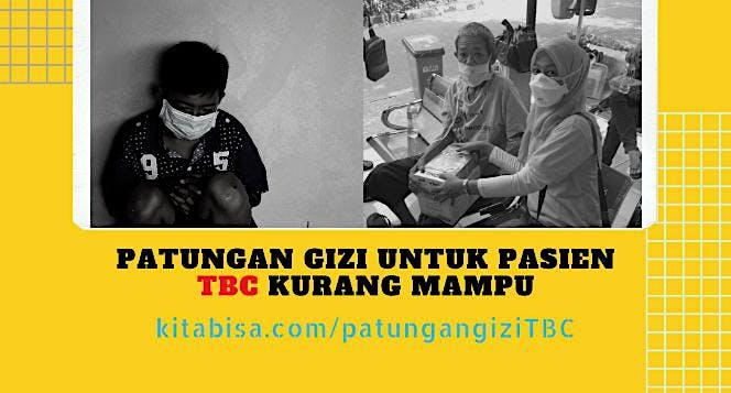 Patungan Gizi untuk Pasien TBC Kurang Mampu