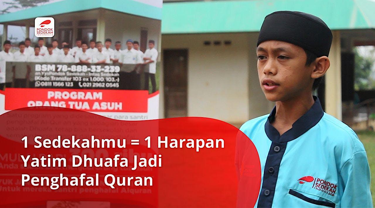 600 Yatim Dhuafa Ingin Jadi Penghafal Al-Qur'an