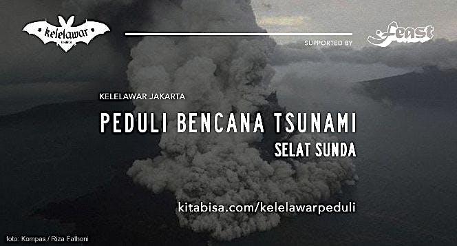 Kelelawar Jakarta Peduli Korban Tsunami Banten