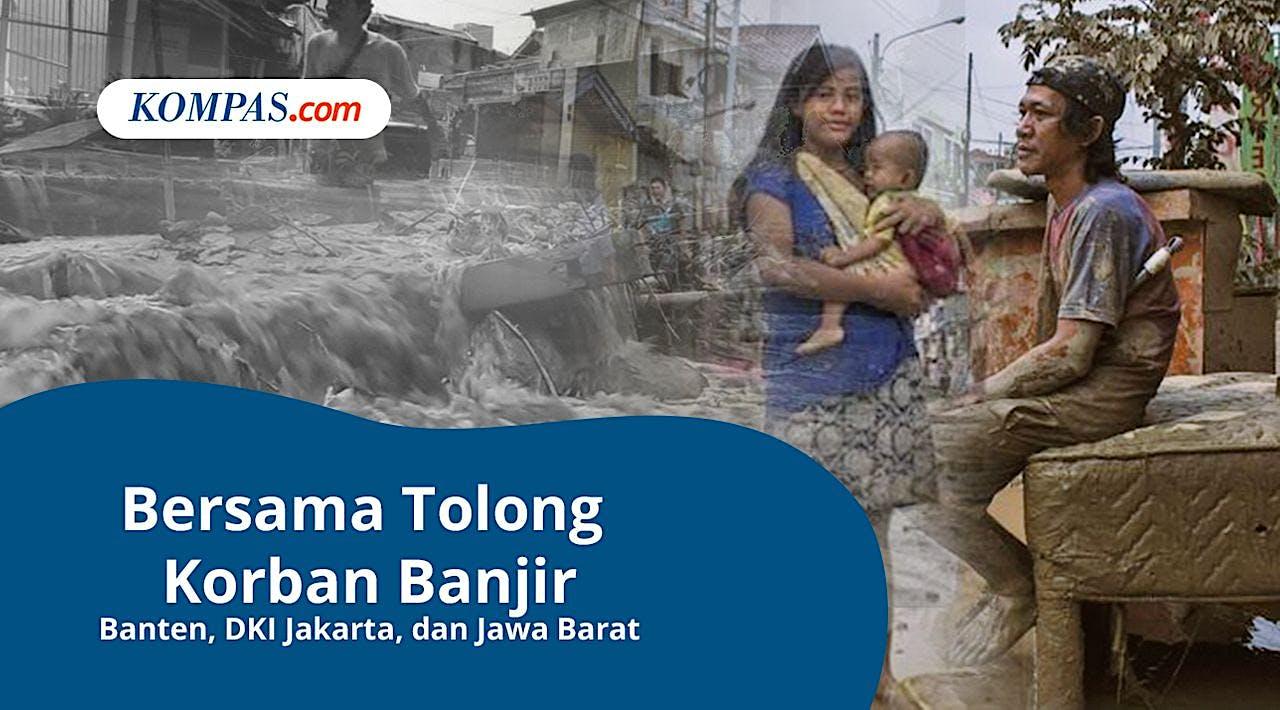 Bantu Korban Banjir Bersama Kompas.com