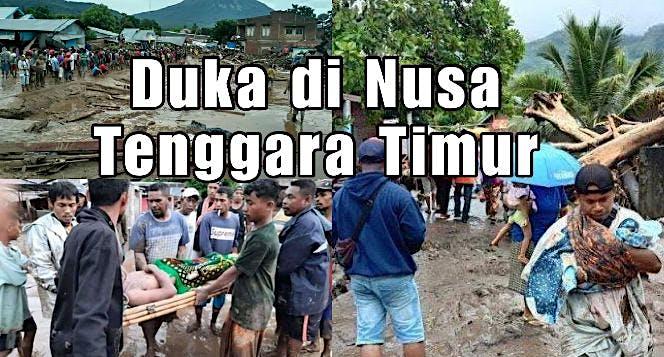 Bantu Korban Banjir Bandang dan Tanah Longsor NTT