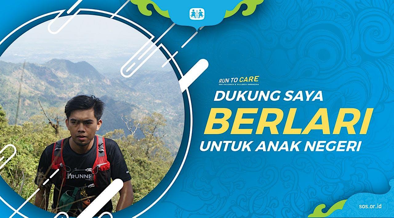 Adi berlari 150KM untuk Mimpi Anak Indonesia