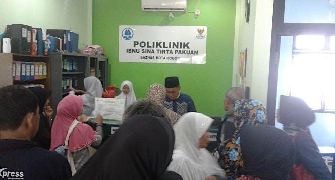 Rp.25.000 bisa bantu berobat masyarakat kota Bogor