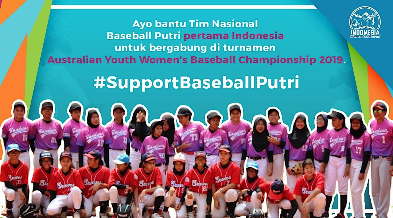 Wujudkan Timnas Baseball Putri Indonesia Pertama