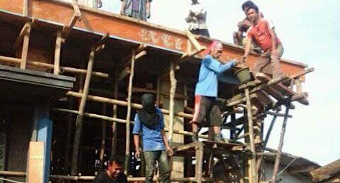 Bantu kami menyelesaikan pembangunan masjid