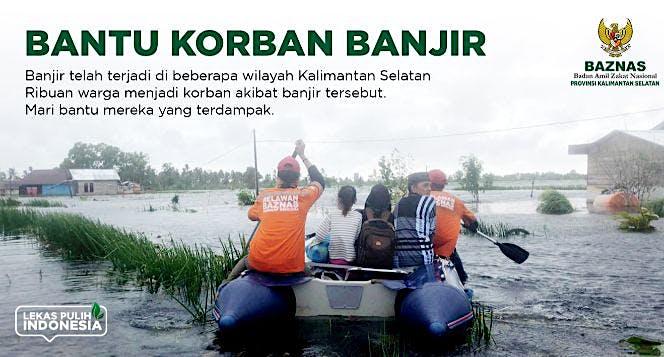#PRAYFORKALSEL Bantu Warga Terdampak Banjir