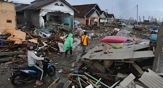 Aksi Empati Untuk Korban Tsunami Banten