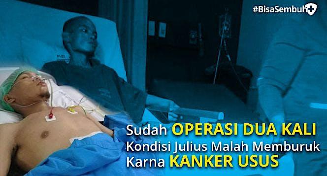 Bantu Julius #BisaSembuh bersama KitaBisa!