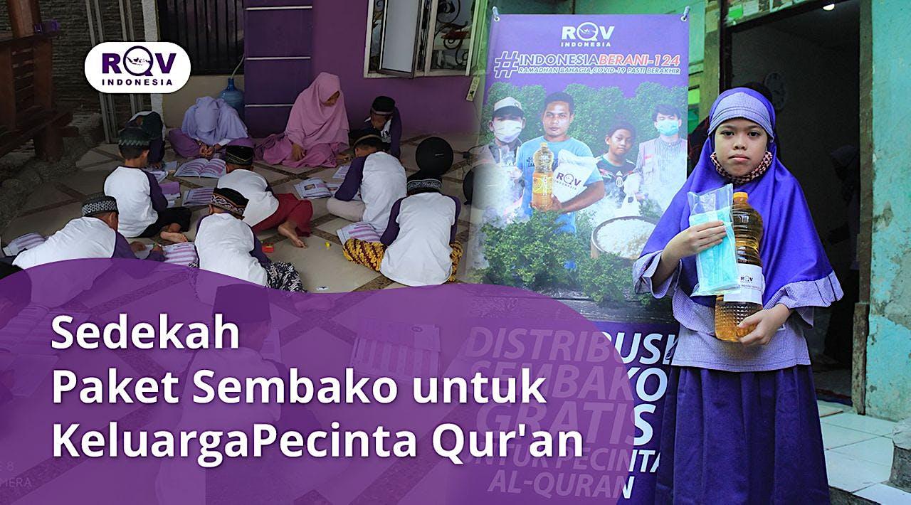 Sedekah Sembako Untuk Penghafal Quran