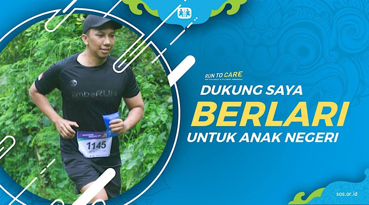 Eko berlari 150KM untuk Mimpi Anak Indonesia