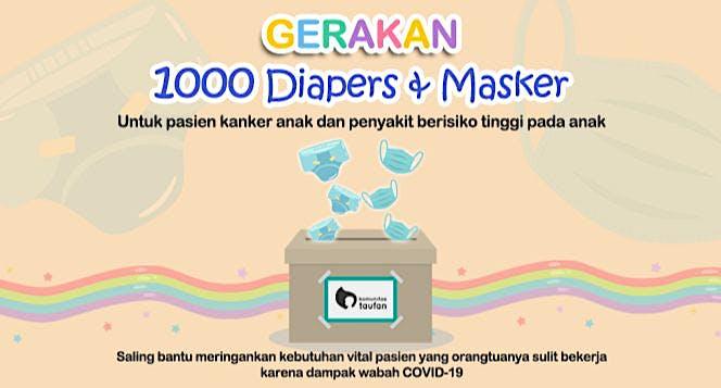Gerakan 1000 Diapers dan Masker