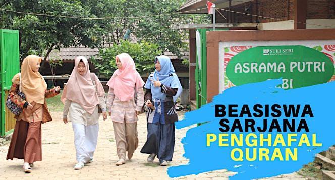 Patungan Beasiswa Sarjana Penghafal Quran Gratis