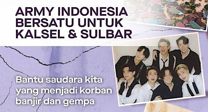 ARMY Indonesia Peduli Bencana