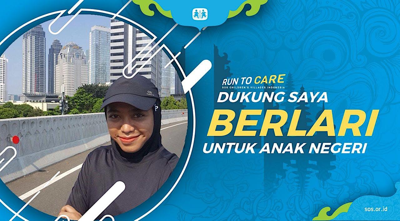 Retty berlari 150KM untuk Mimpi Anak Indonesia