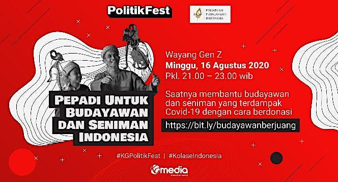 Pepadi untuk Budayawan dan Seniman Indonesia
