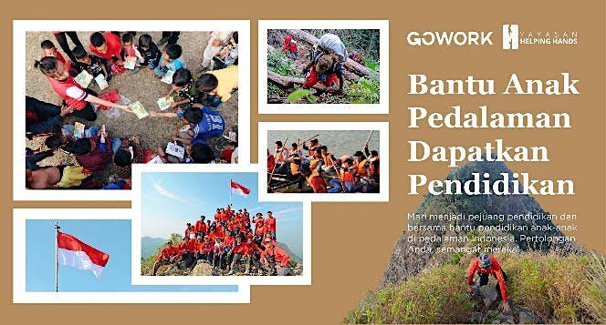 Beasiswa Karya Indonesia untuk Anak Pedalaman