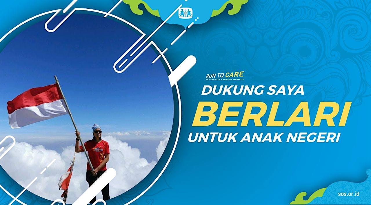 Lidia S Berlari 150KM untuk Mimpi Anak Indonesia