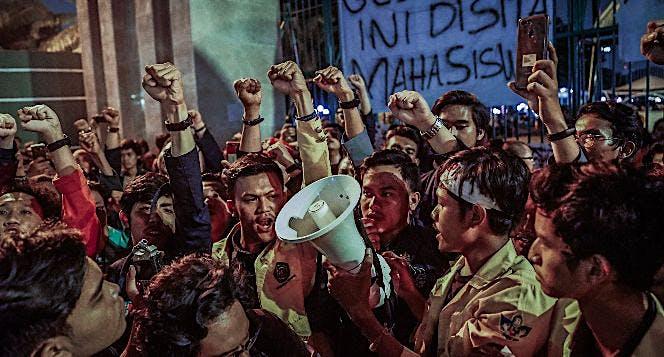 Dukung Aksi Mahasiswa di Gedung DPR 23-24 Sept