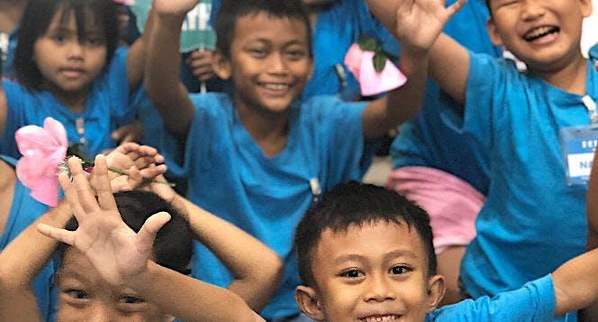 Bantu Rumah Belajar Saab Shares Jakarta