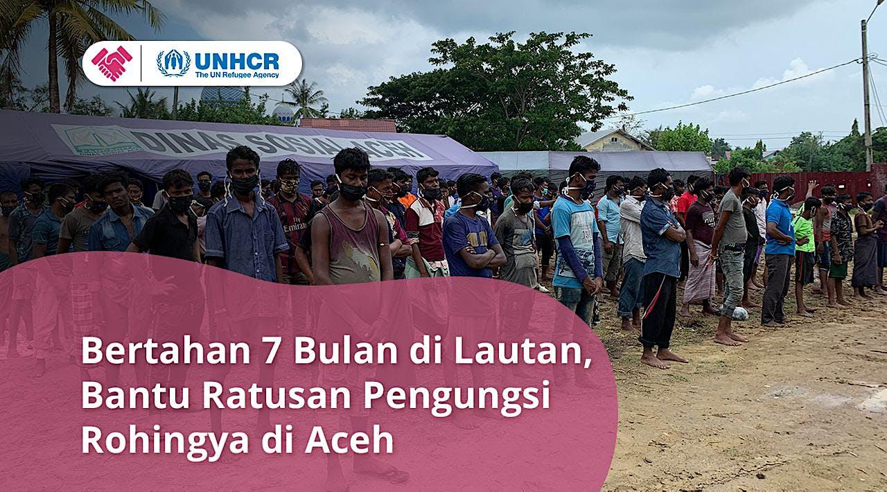 Bantuan Kemanusiaan Untuk 296 Pengungsi Rohingya