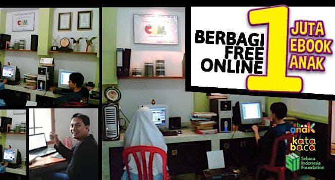 Gerakan Indonesia Berbagi 1000 Buku Anak Digital