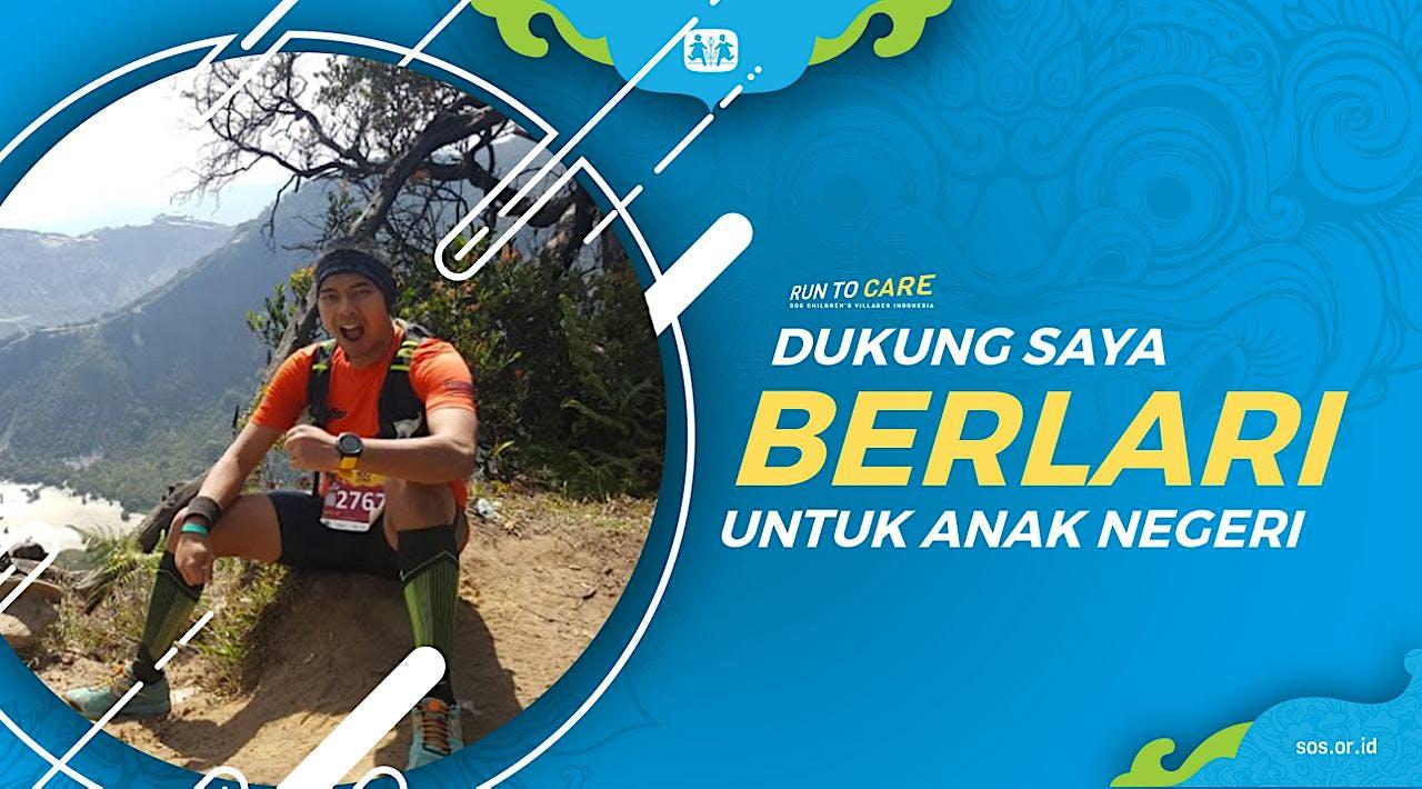 Jefriezal Berlari 150KM untuk Mimpi Anak Indonesia