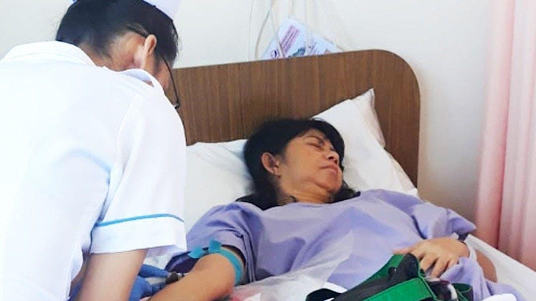Bantu Mama Yanty Melawan Kanker Serviks Stadium 2B