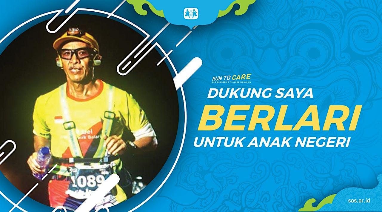 Mak Del Berlari 150KM untuk Mimpi Anak Indonesia