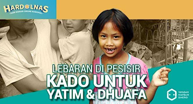 Kado Lebaran untuk Anak Yatim dan Dhuafa Pesisir