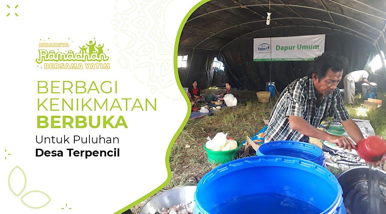 Dapur Ramadhan di Kampung Terpencil