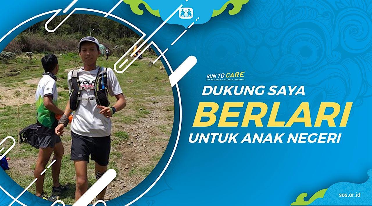 Fadli Berlari 150KM untuk Mimpi Anak Indonesia