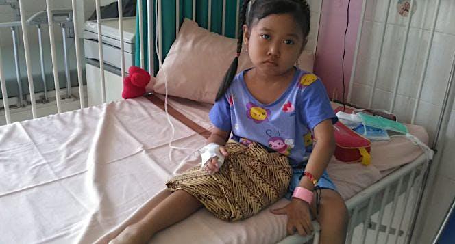 Bantu Nafis sembuh dari leukimia