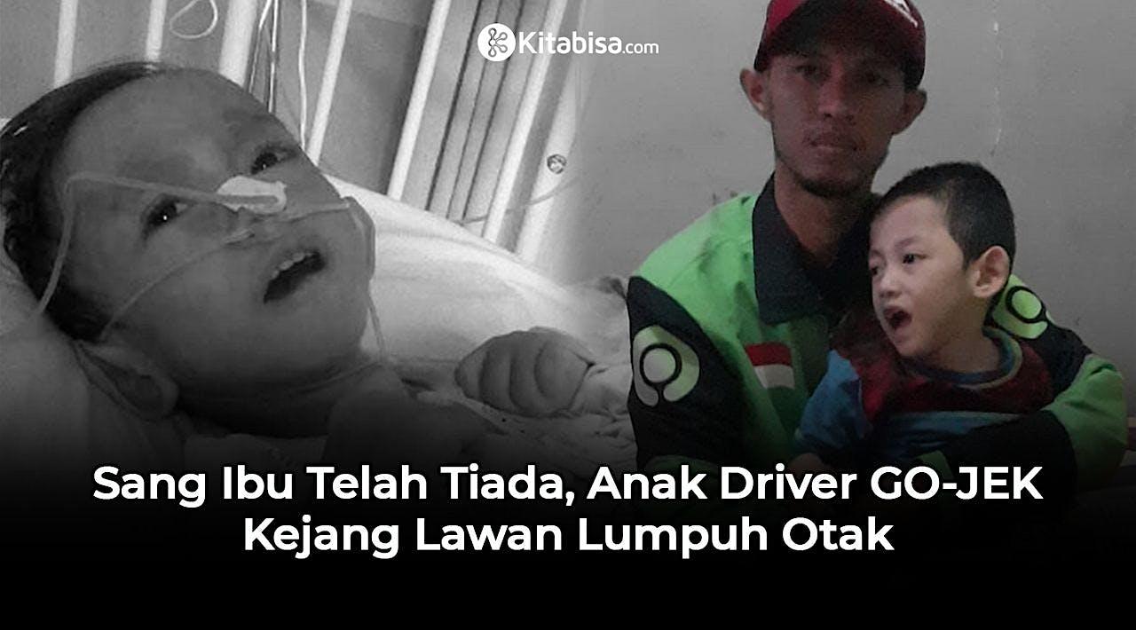 Bantu Anak Driver GO-JEK Lawan Lumpuh Otak