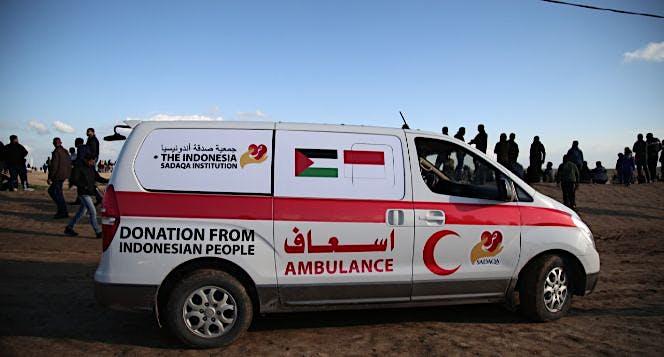 Beli Ambulance untuk Gaza yuk !!