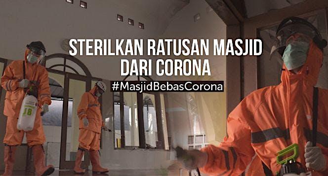 Cegah Corona Masuk Masjid: Sterilkan Rumah Ibadah