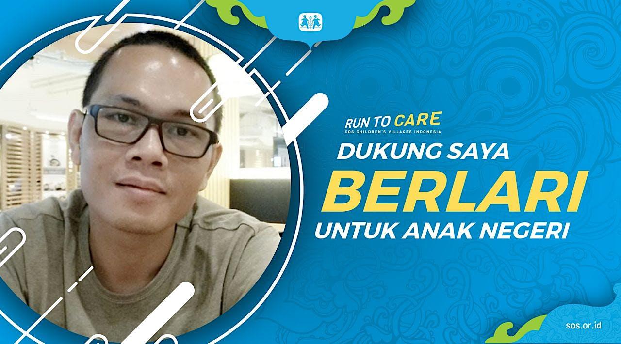 Andri W berlari 150KM untuk Mimpi Anak Indonesia
