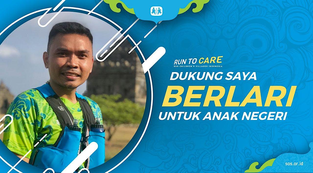 Andi berlari 150KM untuk Mimpi Anak Indonesia