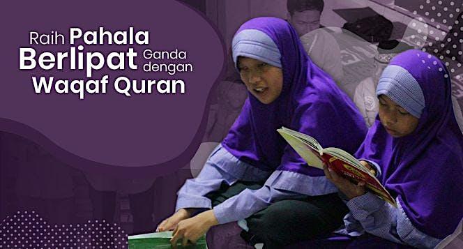Wakaf 5 Juta Qur'an untuk Indonesia