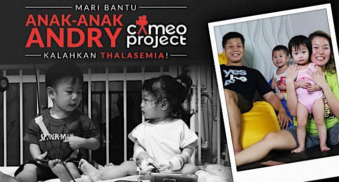 Bantu 2 Anak Andry CameoProject Lawan Thalasemia