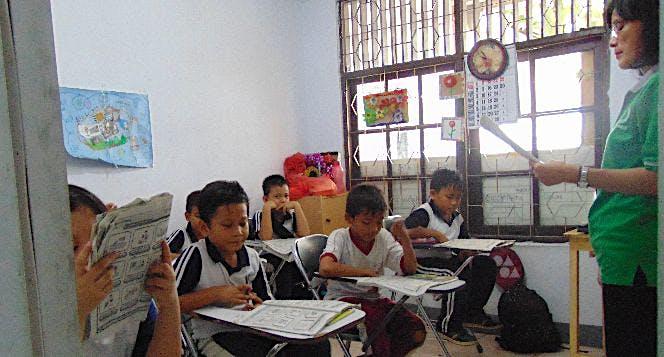 Bantu Sekolah Kusuma Bangsa
