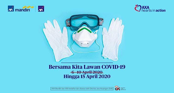 Bersama AXA Indonesia, Cegah Penyebaran Covid-19