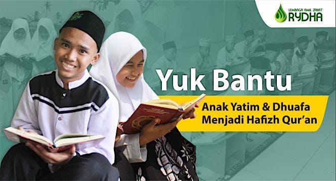 Bantu Yatim dan Dhuafa Agar Terus menghafal Quran