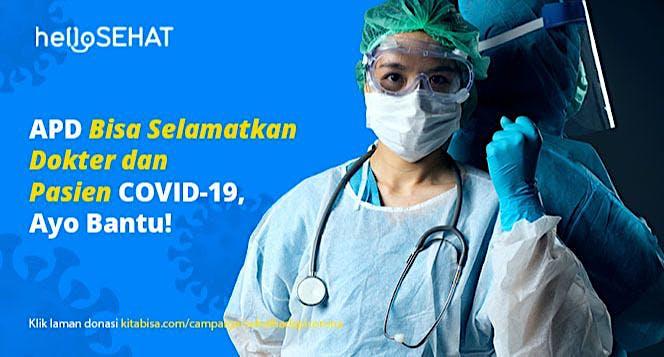 APD dan Ventilator untuk Rumah Sakit di Indonesia