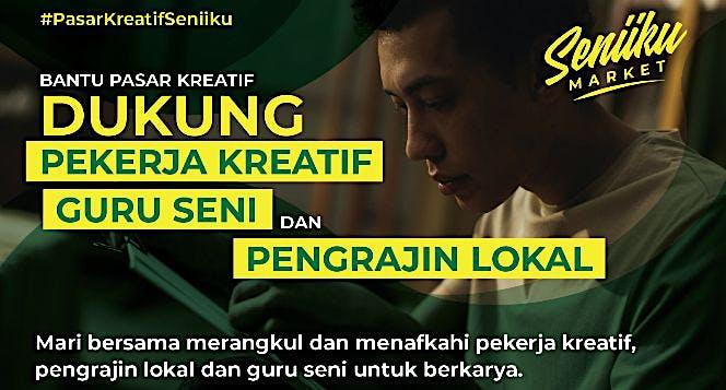 Bantu Pasar Kreatif Dukung Pekerja Kreatif