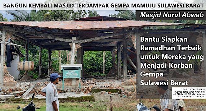 Bangun Kembali Masjid Mamuju - Sulawesi Barat