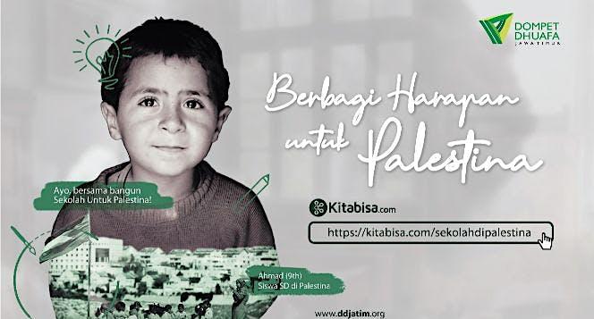 Bangun Sekolah di Palestina