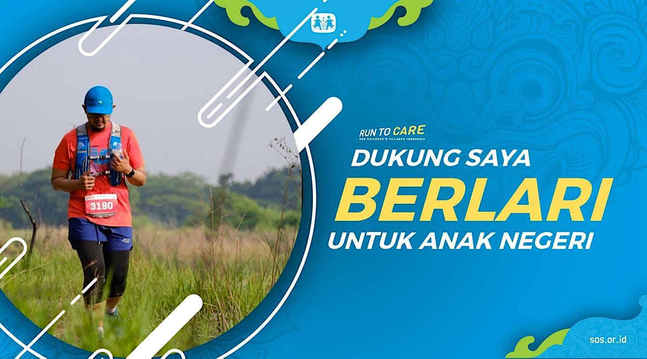 Tri W berlari 150KM untuk Mimpi Anak Indonesia